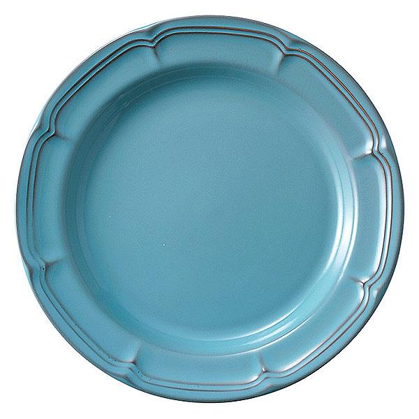 大皿料理をおしゃれに ワンプレート料理にも ホテル レストラン カフェ ラフィネ アンティークブルー 29cmリムプレート 洋食器 丸型プレート 25cm以上 日本製 美濃焼 オードブル皿 パスタ皿 54-15987102 AL完売しました 業務用 カフェ風 大皿料理 皿 ワンプレート ピザ皿 大きい丸皿 ピザプレート プレート おしゃれ 美品