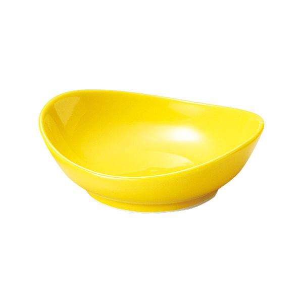 和洋中オールマイティに活躍 デザートにも 珍味 小付セレクション 日本未発売 10cmオーバル皿 黄 和食器 小付 日本製 おしゃれ ランキング総合1位 ボウル 業務用 美濃焼 ミニ鉢 小鉢 とり鉢 63-9-159-23