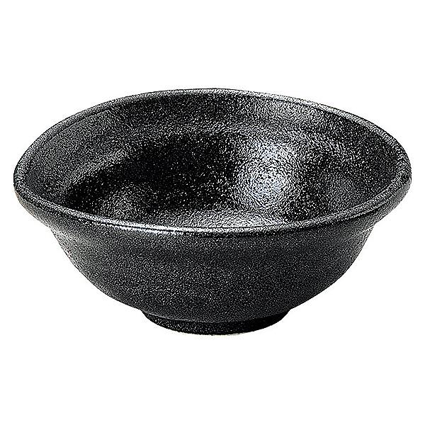 黒い器が料理を際立たせるシックなシリーズ ゆず黒耀 なぶり小鉢 12cm 和食器 返品不可 小鉢 美濃焼 即納送料無料! 業務用 65-51735055 日本製