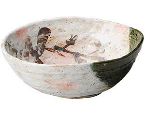 織部古木 大鉢 31cm 和食器 大鉢 日本製 美濃焼 業務用 26-235-026-tu