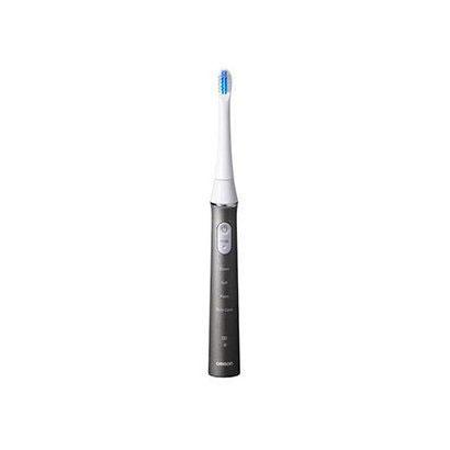 【長期保証付】オムロン 音波式電動歯ブラシ 充電式 HT-B324-BK(ブラック)