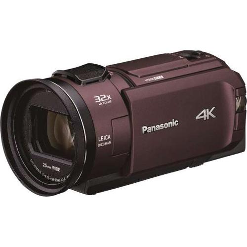 パナソニック HC-WX2M-T デジタル4Kビデオカメラ 64GB