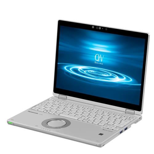 【長期保証付】パナソニック CF-QV8FDPQR(シルバー) QV8シリーズ ノートパソコン 12.0型液晶