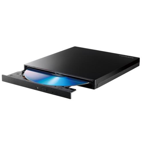 IODATA BRP-UT6UHD/CK Ultra HD Blu-ray再生対応 ポータブルブルーレイドライブ