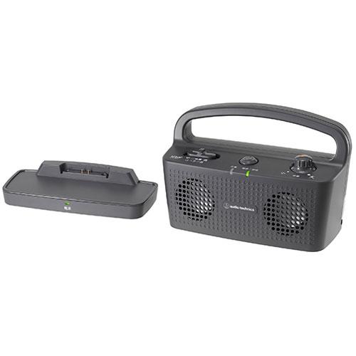 【長期保証付】オーディオテクニカ AT-SP767XTV-BK(ブラック) SOUND ASSIST デジタルワイヤレススピーカーシステム