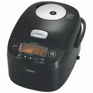 象印 NP-BJ18-BA(ブラック) 極め炊き 圧力IH炊飯ジャー 1升