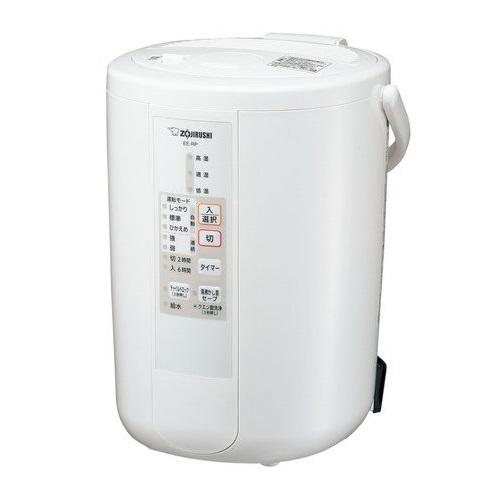 【長期保証付】象印 EE-RP50-WA(ホワイト) スチーム式 加湿器 木造8畳/プレハブ13畳 480mL/h