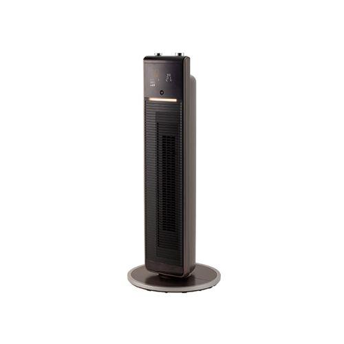 【長期保証付】コイズミ KHF-1295-T(ブラウン) ホット&クール DCプレミアムタワーファン リモコン付