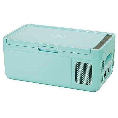 ドメティック MCG15BL(ブルー) ポータブル2way コンプレッサー冷凍庫 保冷庫 14.5L