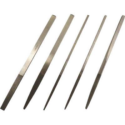 ロブテックス K5-SET 鉄工ダイヤヤスリ 5本組 セット