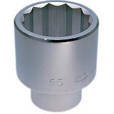京都機械工具 B50-63 25.4sq.ソケット(十二角) 63mm
