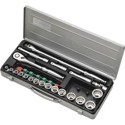 京都機械工具 TB415X 12.7sq.ソケットレンチセット[21点]