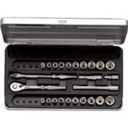 京都機械工具 TB2X20B 6.3sq.ソケットレンチセット[25点]