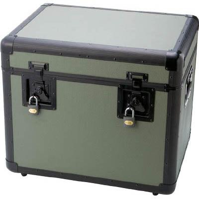 トラスコ中山 TAC-540OD 万能アルミ保管箱 オリーブドラブ 543X410X457