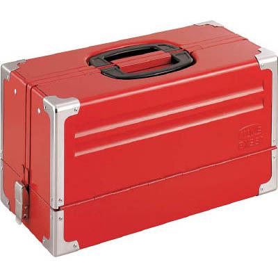 TONE BX331 ツールケース(メタル) V形3段式 433X220X240mm