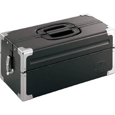 TONE BX322BK ツールケース(メタル) V形2段式 マットブラック