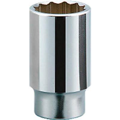 京都機械工具 B45-58 19.0sq.ディープソケット(十二角) 58mm