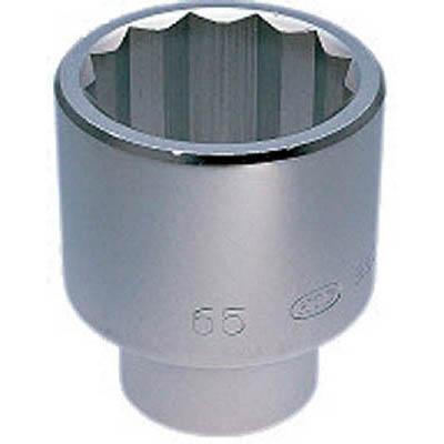 京都機械工具 B50-58 25.4sq.ソケット(十二角) 58mm