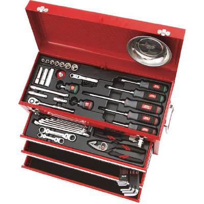 京都機械工具 SK3567X 整備用工具セット(チェストタイプ)