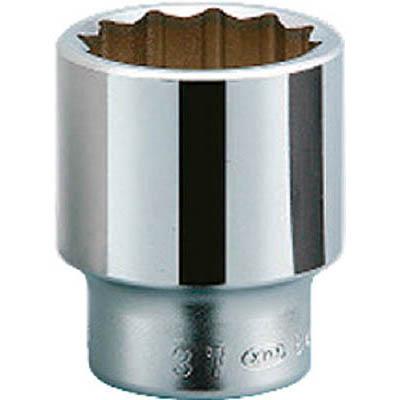 京都機械工具 B40-80 19.0sq.ソケット(十二角) 80mm