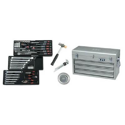 京都機械工具 SK3650XS 9.5sq.工具セット(チェストケース)