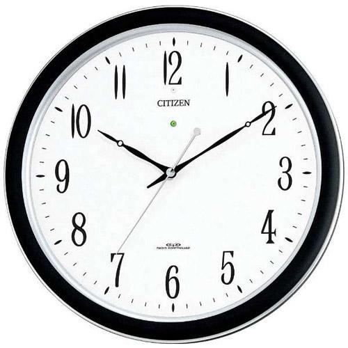 シチズン 4MY691-N19(シルバーメタリック色) ネムリーナM691F 強化防滴防塵型電波掛時計