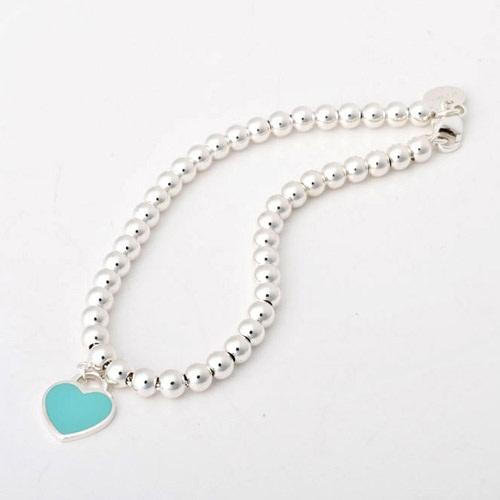 Tiffany&Co. 26659604 RTTミニハートビーズ ブレスレット