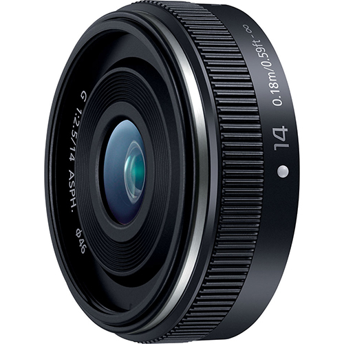 パナソニック LUMIX G 14mm F2.5 II ASPH.(ブラック)