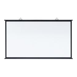 サンワサプライ PRS-KBHD90 プロジェクタースクリーン 壁掛け式 90型相当