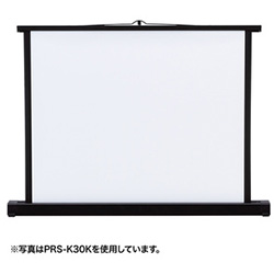 サンワサプライ PRS-K50K プロジェクタースクリーン 机上式 50型/4:3