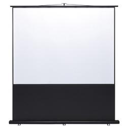 サンワサプライ PRS-Y100K プロジェクタースクリーン 床置き式 100型/4:3