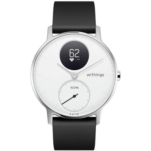 Withings HWA03-36WHITE-ALL-JP(White) Steel HRスマートウォッチ 36mm