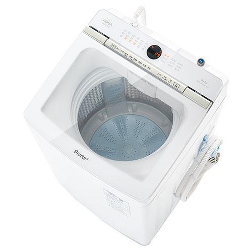 【設置】アクア AQW-VA9M-W(ホワイト) 全自動洗濯機 Prette 上開き 洗濯9kg
