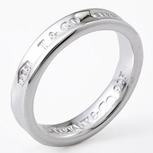 Tiffany&Co. 22993763 1837ナローリング シルバー 19号