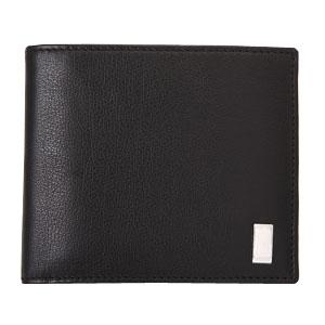dunhill QD3070 SIDECAR BLACK ブラック 二つ折り財布