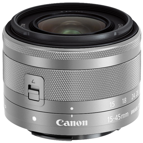 【長期保証付】CANON EF-M15-45mm F3.5-6.3 IS STM SL(シルバー)