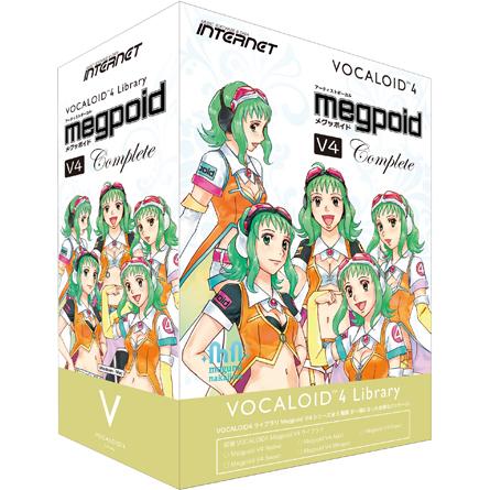 インターネット VOCALOID4 Library Megpoid V4 Complete