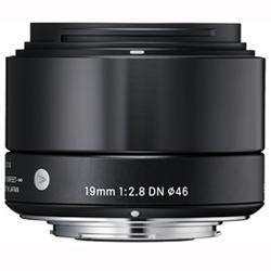 シグマ 19mm F2.8 DN(ブラック) マイクロフォーサーズ用