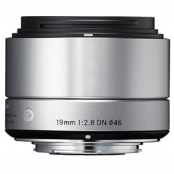 シグマ 19mm F2.8 DN(シルバー) マイクロフォーサーズ用