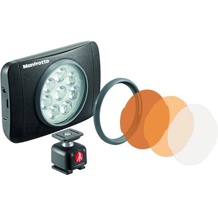 マンフロット MLUMIEMU-BK(ブラック) LUMIE LEDライト 550lux MUSE