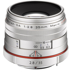 【長期保証付】ペンタックス HD PENTAX-DA 35mmF2.8 Macro Limited(シルバー)