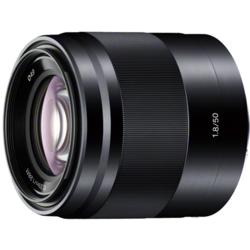 【長期保証付】ソニー E 50mm F1.8 OSS(ブラック)