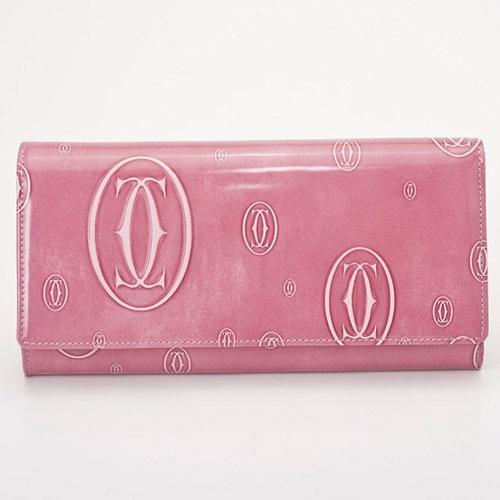 Cartier L3001282 ピンク ハッピーバースデー 長財布