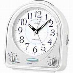 期間限定特価品 在庫あり 14時までの注文で当日出荷可能 セイコー NR435W 目覚まし時計 PYXIS 定番の人気シリーズPOINT ポイント 入荷 ピクシス