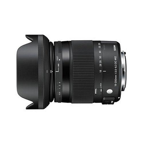 【長期保証付】シグマ 18-200mm F3.5-6.3 DC MACRO OS HSM シグマ用