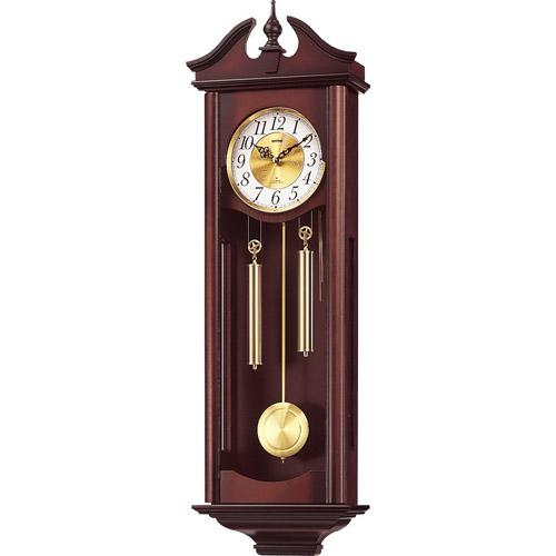 シチズン 4MJ742RH06(濃茶木地仕上) キャロラインR 報時付掛時計