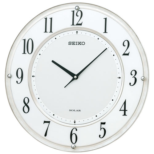 セイコー SF506W ソーラー電波掛け時計