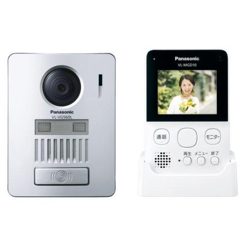 Panasonic(パナソニック) ワイヤレステレビドアホン 無線接続/配線工事不要 VL-SGD10L