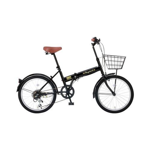 レイチェル FB-206R 20インチ 6段変速 折畳自転車 ブラック