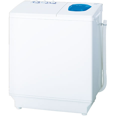 【長期保証付】日立(HITACHI) 青空 2槽式洗濯機(ホワイト) 洗濯6.5kg/脱水6.5kg PS-65AS2-W